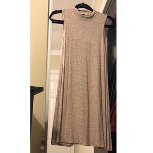 ACEMI SHIFT DRESS TAN